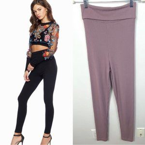 Dress The Population Mauve Loungewear Leggings XS